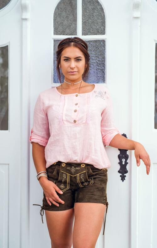 Genieße den reduzierten Preis Shop für authentische günstig Kurze Lederhosen für Damen kaufen | bei Finest Trachten
